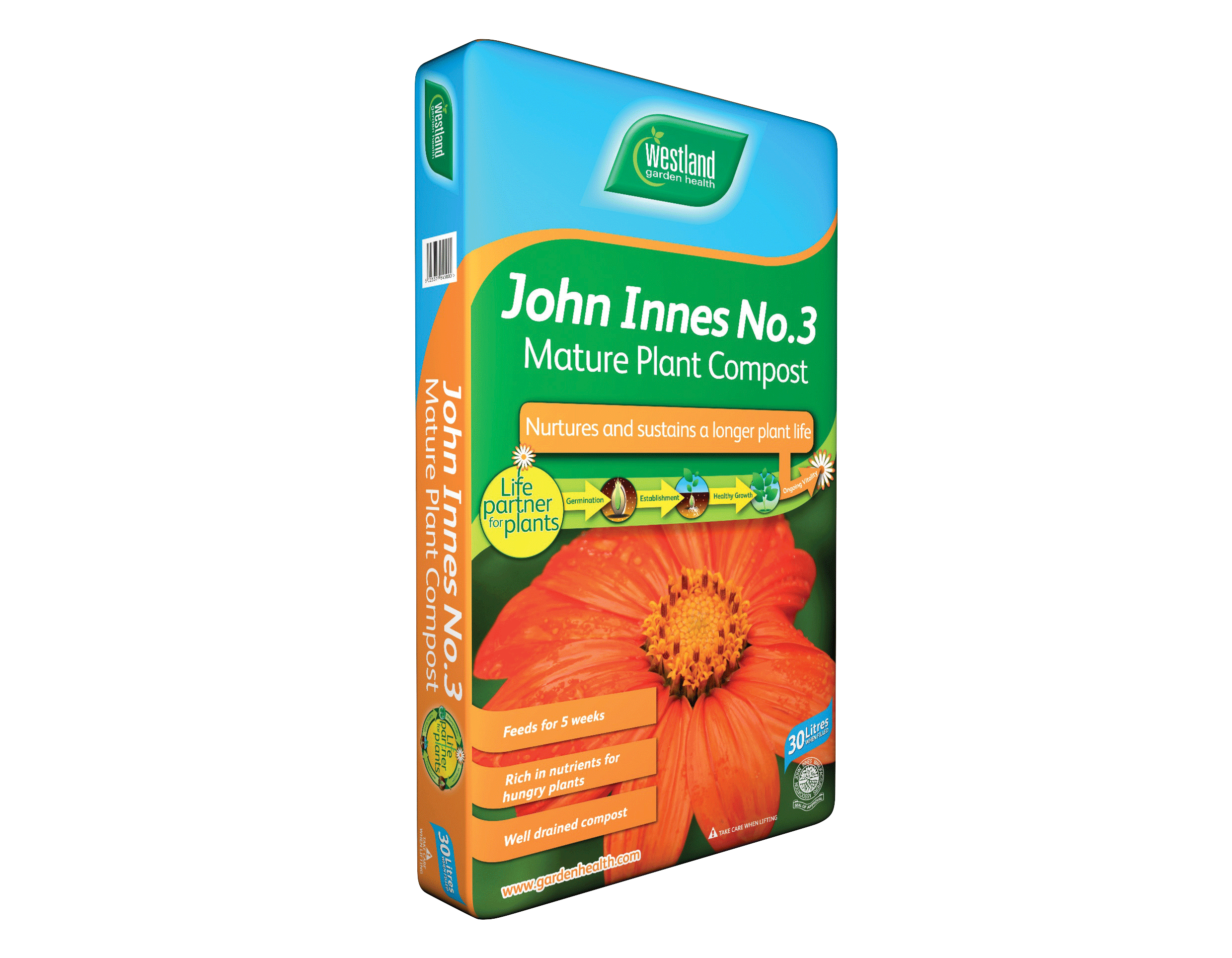 Westland John Innes Seed No. 3 Mature Plant Compost