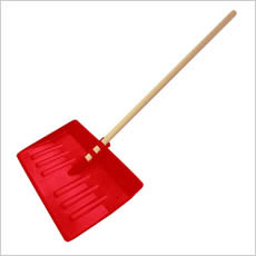 Snow Scoop Shovel - Red